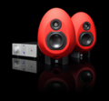 Monitor studyjny Munro Sonic Egg 100 Red