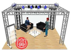 Kratownica Quadro Budget 1m Stage Effects