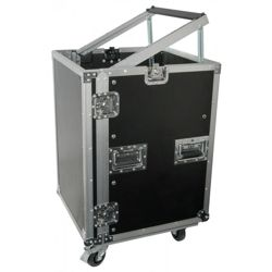 "PD-F16U8 19"" Rackcase with Wheels"