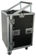"Rack case 12U 19"" na kółkach Power Dynamics"